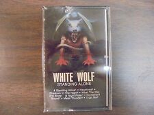 "NEW SEALED ""White Wolf"" Standing Alone     Cassette Tape (G)"
