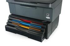 Supporto porta stampante o fax robusto con 4 cassetti per carta e cancelleria
