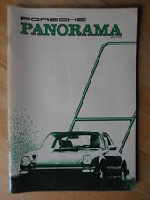 PANORAMA Official Magazine Brochure of the Porsche Club of America - 1978/07 Edn