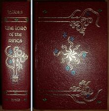 THE LORD OF THE RINGS J.R.R. Tolkien 3 Vol Set In One Collector's Edition