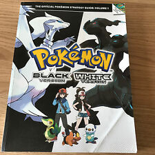 Pokemon Black & White Official Strategy Guide Volume 1 - Nintendo DS Game Guide