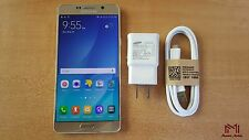 Samsung Galaxy Note 5 | T-Mobile | Grade A | Factory Unlocked | Gold Platinum |