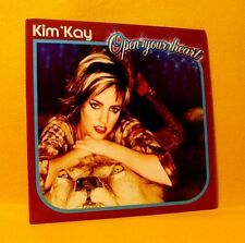Cardsleeve single CD Kim 'Kay Open Your Heart 2 TR 2001 Euro House