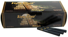 5 (Five) Vera Cruz Midnight Cigarette Tobacco Tubes (200ct Carton) RYO/MYO