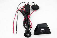 Novosonics NS-USBCHG USB power port for iphone, etc. 6' Cable with Dash Mount