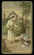 santino-holy card ediz. NB  n.31047 GESU' CIBA GLI UCCELLINI