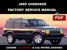 JEEP CHEROKEE 1997 - 2001 FACTORY SERVICE REPAIR WORKSHOP MANUAL
