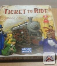 Ticket to Ride Board Game by Days of Wonder.  OPEN BOX