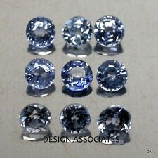 MONTANA BIG SKY BLUE SAPPHIRE 4.5 MM ROUND CUT ALL NATURAL AAA SOLD AS EACH