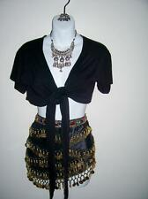 Belly Dancing Outfit top skirt CD Jewelry necklace earrings Plus size 18 18W XXL