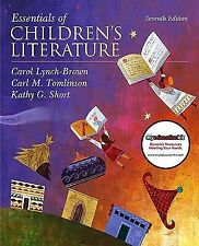 Essentials of Children's Literature with MyEducationKit 7th Edition MyEduca