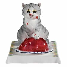 Linda Smith Comic and Curious Cats Jelly Belly Figurine Ornament A22197 RRP£32