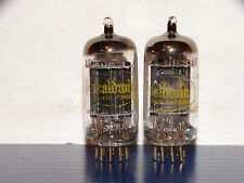 2 x 12AX7A Raytheon-Baldwin Tubes*Long Black Plates*O getter*Matched*#3