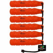 AVERY GREENHEAD GEAR GHG ORANGE HEXA BUMPER  6 PACK DOG TRAINING THROWING DUMMY