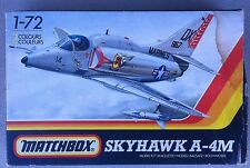 Vintage Matchbox 1:72 Skyhawk A-4M Model Kit #PK29* With PATCH !