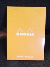 RHODIA DOT Pad no.16 a5 5mm griglia di punti matrice Sketch Book-Top Staffa di fissaggio.