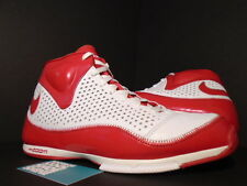 2007 Nike ZOOM BB II 2 BASKETBALL WHITE RED SILVER STEVE NASH 317993-162 11.5