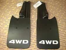 Toyota Tacoma Truck 4x4 & Pre-Runner Rear Mud Flaps and Brackets and Bolts NEW