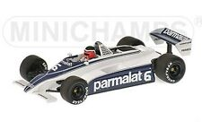 MINICHAMPS 400 810006 BRABHAM FORD BT49C F1 car 1981 Hector Rabaque 1:43rd