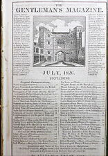 Turkey Janissary Army Revolt  1826 Lady Godiva & Peeping Tom - Connecticut Laws