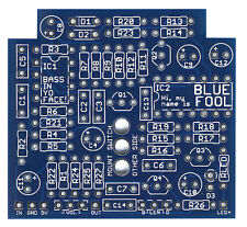 Blue Fool-Pro fabricado PCB para Bricolaje Stompbox construir