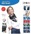 "NFL Silky Scarf 34"" x 34"" NWT - Assorted Teams"