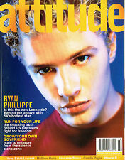 ATTITUDE #58 2/1999 RYAN PHILLIPPE Hedi Slimane YSL Tyrese SIOUXSIE SIOUX @Mint!