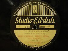 "ACETATE  very early MIKE DOUGLAS  ""An Orchid &  a Kiss"" / Mega-rare UNFINDABLE"
