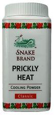 Marca de serpiente Polvo de refrigeración clásico de calor punzante práctico 50G de viaje Paquete-Freepost