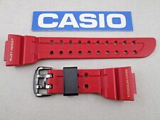 Genuine Casio G-Shock 30th anniversary Frogman GWF-T1030A red watch band strap