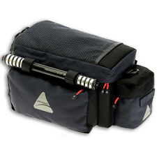 NEW Axiom Caboose 11 Insulated Bicycle/Bike Rack Bag - Gray/Black