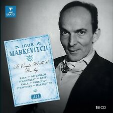 Icon: markewitch, Igor (Icon/Ltd. Edition) 18 CD NUOVO Bach/Offenbach/Ravel/prokofie