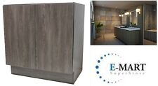 "36"" European Style Bathroom Vanity Plywood Door Cabinet Walnut Wood pattern"