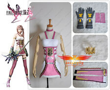 Final Fantasy 13-2 FF XIII -2  Serah Farron Cosplay Costume  W0040