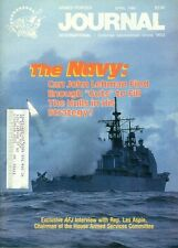 1986 Armed Forces Journal Magazine: The Navy - John Lehman Cuts/Les Aspin