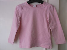 Baby Girls Pink Boots Mini Club long sleeve T-Shirt age 18-24 months
