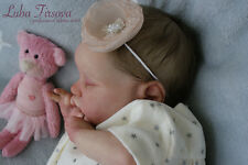 Newborn Reborn Baby Girl Doll Evangelina by Laura Lee Eagles LE by Luba Firsova