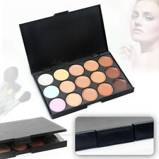 AU STOCK15 Shades Color Pro Concealer Makeup Palette Set Cosmetic Sheer Neutral