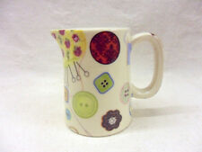 special offer sewing chintz  mini cream jug pitcher jug by Heron Cross Pottery