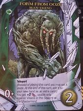 2015 Upper Deck Marvel 3D Legendary Form From Ooze Man-Thing NM-Mint