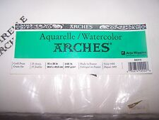 "New in Package Arches 140lb Cold Press 25 sheets 16""x20"" Watercolor Paper"