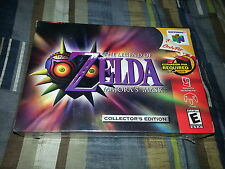 Legend of Zelda: Majora's Mask (Nintendo 64, 2000) N64 Brand New Factory Sealed