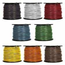 Awg 12 Thhn Stranded Copper Wire 600v. Grey.