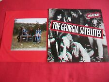 THE GEORGIA SATELLITES - OPEN ALL NIGHT - LP -1988 -EXCELLENT CONDITION - EKT 47