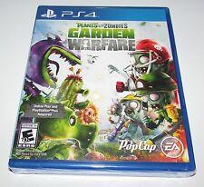 Plants VS Zombies Garden Warfare for Playstation 4 Brand New! Factory Sealed!