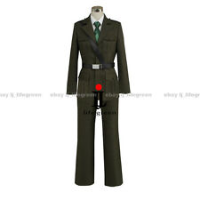 Hetalia: Axis Powers England Britain Arthur Uniform COS Clothing Cosplay Costume
