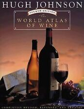 The World Atlas of Wine by Hugh Johnson (1994, Hardcover, Revised)