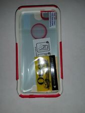 NEW OtterBox Commuter Case Apple iPhone 5 5s Raspberry Pink / White (+ GIFT)