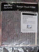 Broan NuTone #41F Replacement Range Hood Filter  NEW