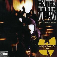 Enter the Wu-Tang (36 Chambers) [Bonus Track] [PA] by Wu-Tang Clan (CD,...